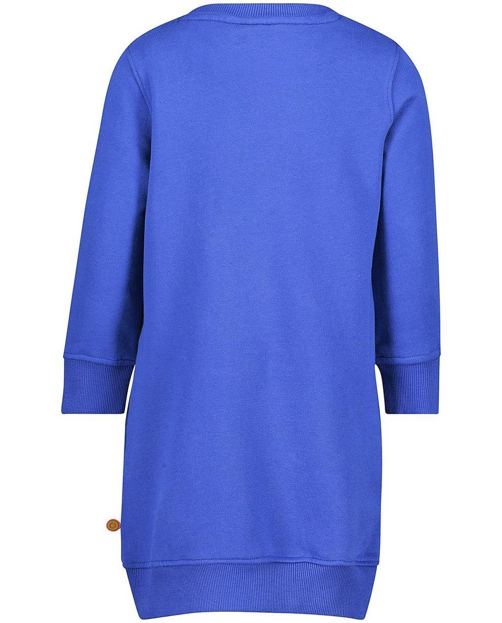 Kleedjes - BLD - Lavendelblauwe sweatjurk